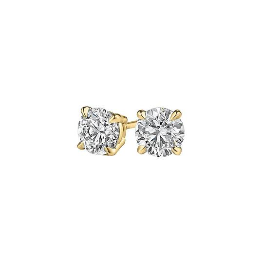 Preload https://img-static.tradesy.com/item/25151647/yellow-sparkle-with-natural-diamond-stud-in-14k-gold-earrings-0-0-540-540.jpg