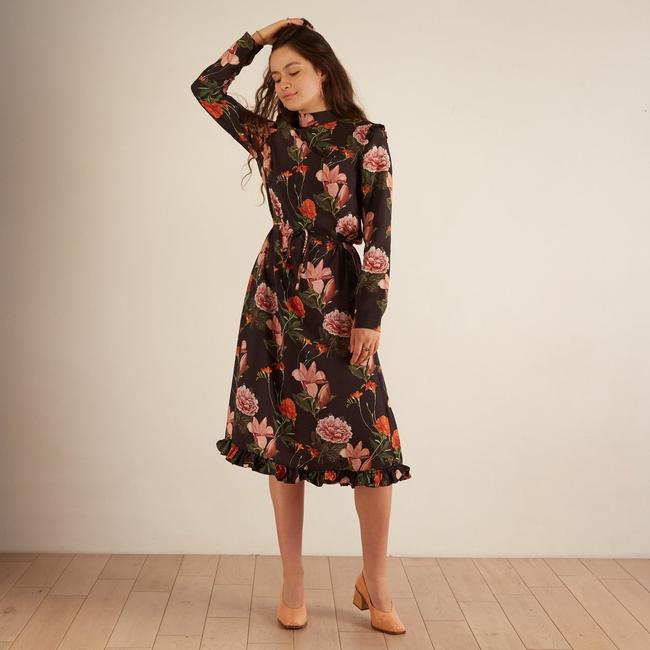Multi Maxi Dress by Anthropologie Image 2