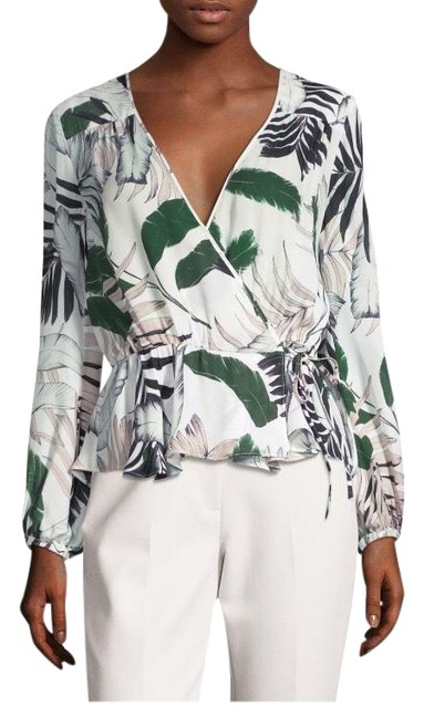 Preload https://img-static.tradesy.com/item/25151849/milly-white-pink-and-black-tropical-print-blouse-size-4-s-0-3-650-650.jpg