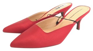 WHO WHAT WEAR RED Mules