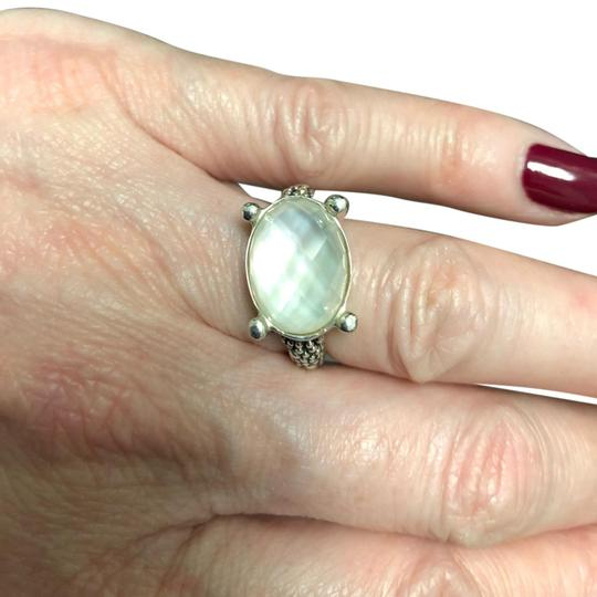 Preload https://img-static.tradesy.com/item/25152092/michael-dawkins-sterling-silver-and-white-moonstone-starry-night-granulated-doublet-ring-0-1-540-540.jpg