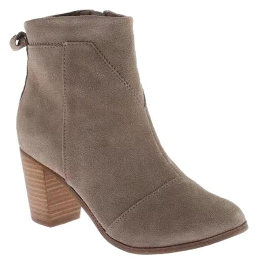 TOMS Taupe Boots Image 0