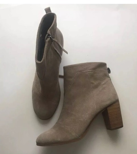 TOMS Taupe Boots Image 3