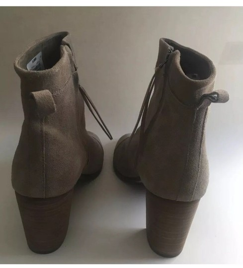 TOMS Taupe Boots Image 6