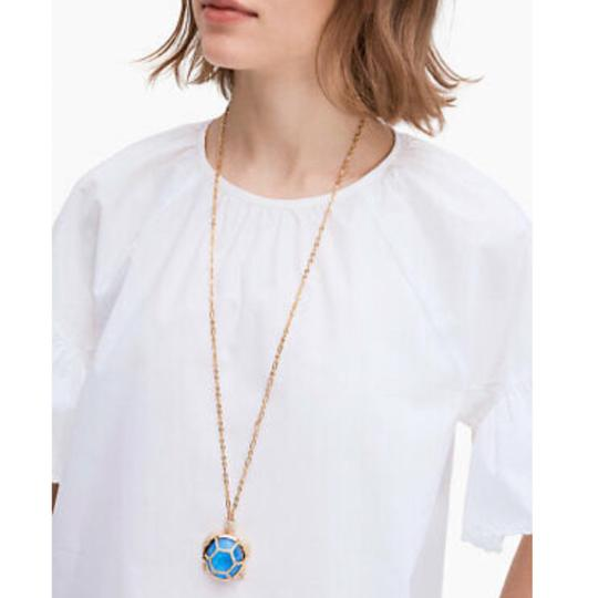 Kate Spade KATE SPADE Paradise Found Turtle Locket Necklace Image 2
