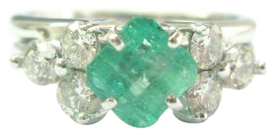 Preload https://img-static.tradesy.com/item/25152231/green-natural-colombian-emerald-and-diamond-platinum-and-white-gold-1-ring-0-1-540-540.jpg