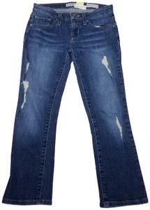 Guess Sarah Fit 1981 Midrise Crop Skinny Jeans-Distressed