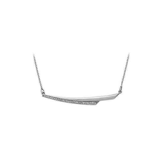 Preload https://img-static.tradesy.com/item/25152306/white-cubic-zirconia-linear-style-14k-gold-necklace-0-0-540-540.jpg