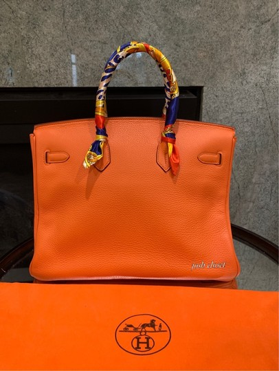 Hermès Satchel in orange Image 1
