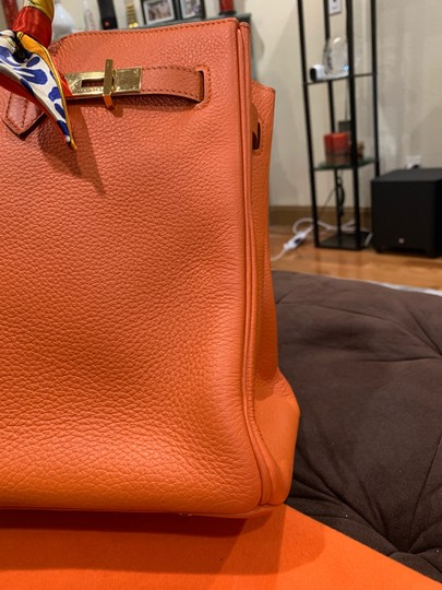 Hermès Satchel in orange Image 11