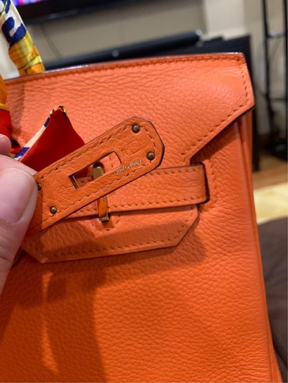 Hermès Satchel in orange Image 2