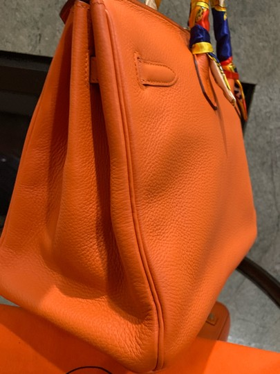 Hermès Satchel in orange Image 4