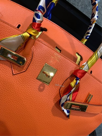 Hermès Satchel in orange Image 6