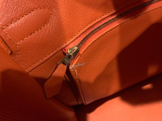 Hermès Satchel in orange Image 8
