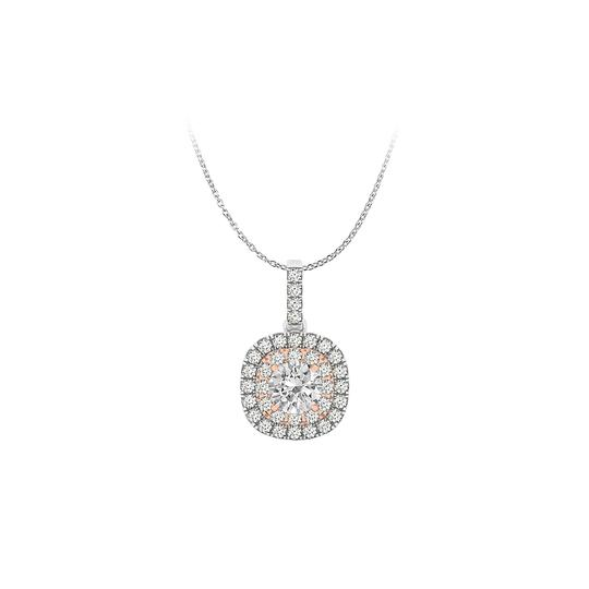 Preload https://img-static.tradesy.com/item/25152384/white-conflict-free-diamond-pendant-in-two-tone-gold-necklace-0-0-540-540.jpg