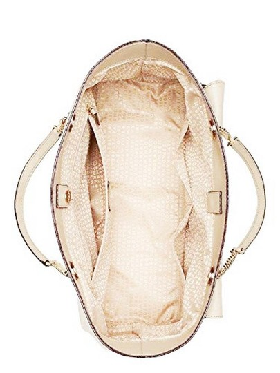Kate Spade Halsey Ostrich Ivory Tote in sftporcln Image 1