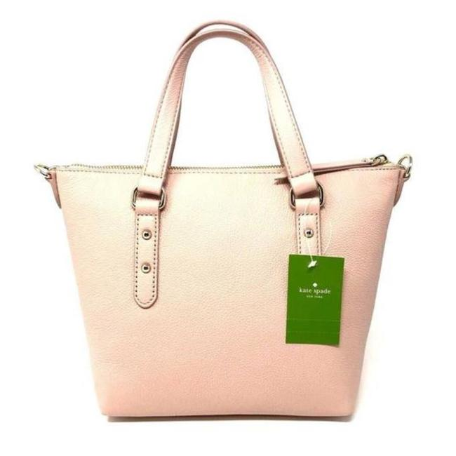 Kate Spade Larchmont Avenue Small Penny Warm Vellum Pebbled Leather Cross Body Bag Kate Spade Larchmont Avenue Small Penny Warm Vellum Pebbled Leather Cross Body Bag Image 1