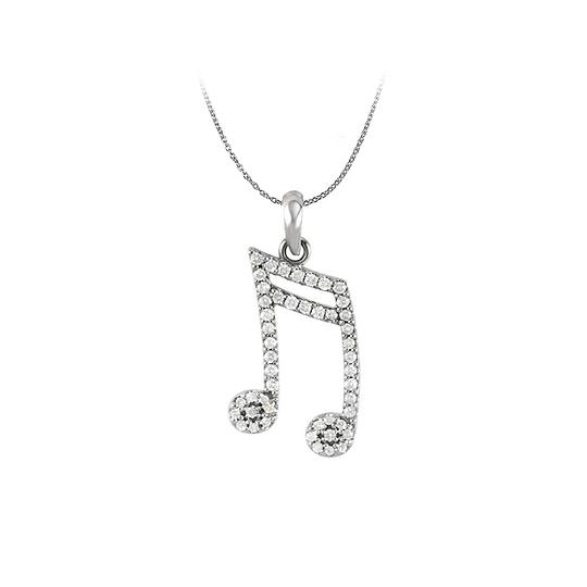 Preload https://img-static.tradesy.com/item/25152498/white-diamond-double-sixteenth-note-pendant-in-14k-gold-necklace-0-0-540-540.jpg