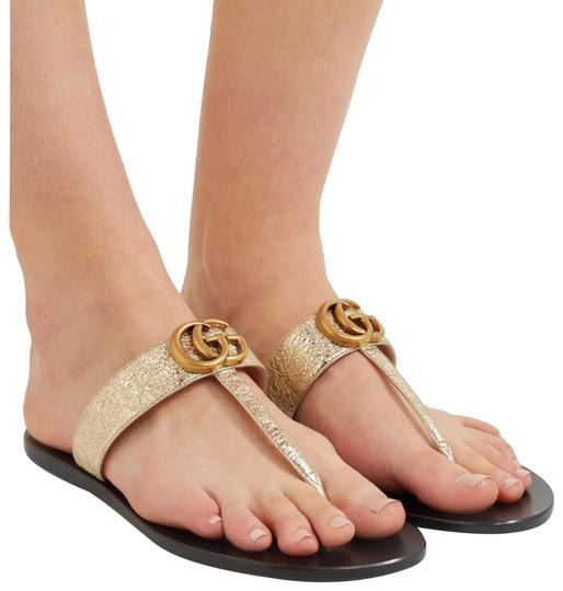 Gucci gold Sandals Image 0