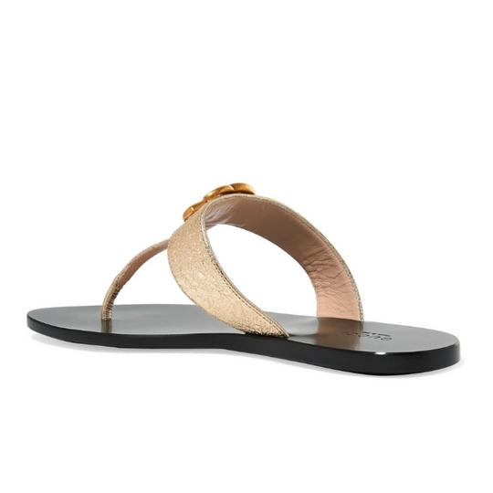Gucci gold Sandals Image 3