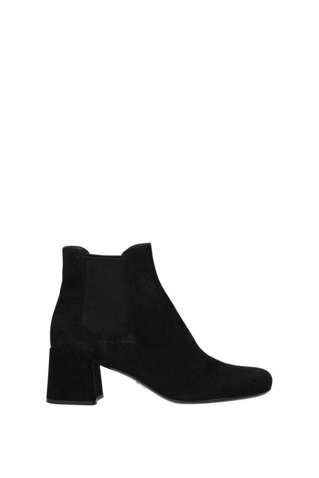 f810e0a821db40 Prada Black Ankle Women Boots/Booties Size EU 39.5 (Approx. US 9.5 ...