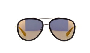 Gucci gg0062s Aviator with Gold Mirrored Lenses