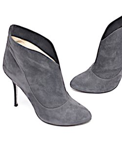 Alberto Moretti Suede Diamond In The Grey Boots