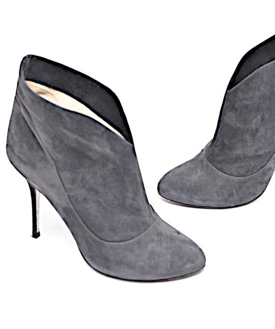 """Item - Grey Charcoal Suede """"Like A Diamond In The Sky"""" Boots/Booties Size EU 38.5 (Approx. US 8.5) Regular (M, B)"""