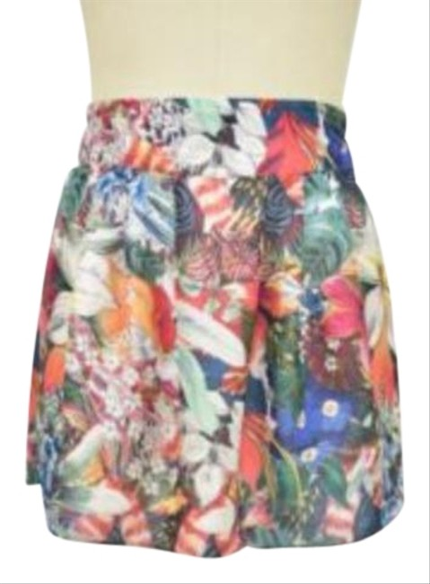Item - Multicolor Floral Small Skirt Size 6 (S, 28)