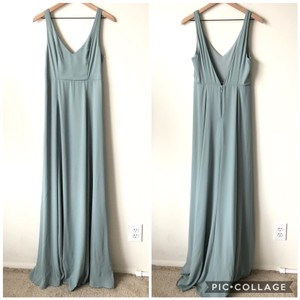Show Me Your Mumu Blue Jenn Modern Bridesmaid/Mob Dress Size 8 (M)