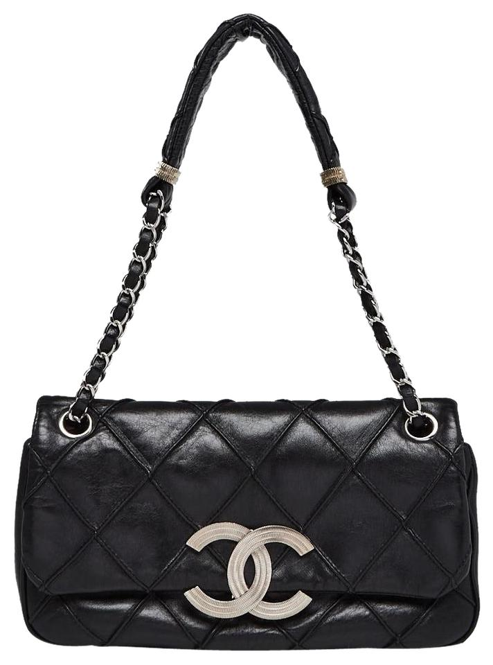 06c392711c Chanel Quilted Gold Hardware Interlocking Cc Logo Cambon Shoulder Bag Image  0 ...