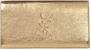 Saint Laurent golden Clutch