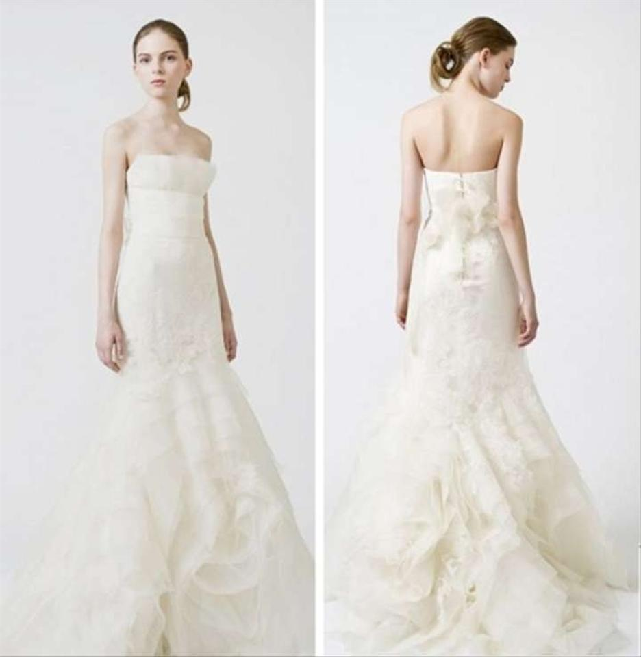 Vera wang fawn wedding dress wedding dresses on sale for Vera wang wedding dresses sale