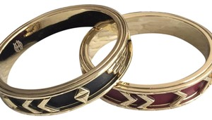 House of Harlow 1960 House of Harlow 1960 Aztec Leather bangles - Set of 2