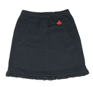 Gucci Navy Jersey Children's Felted Cotton Ruffled Skirt 12 Years 435061 413 Groomsman Gift