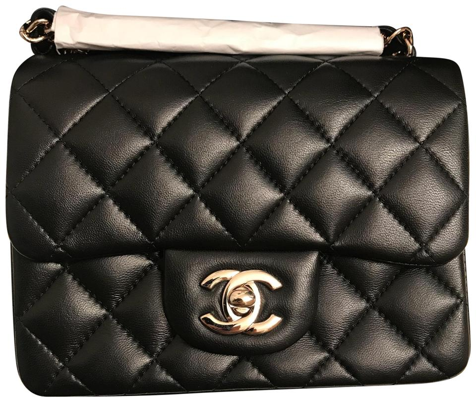 2d18c02ce9a175 Chanel Classic Flap Rare Timeless Diamond Quilted Mini Square ...
