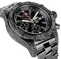 Breitling Breitling Super Avenger Chronograph Stainless Steel Black PVD Watch