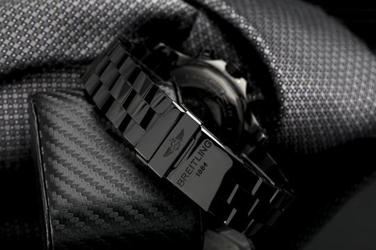 Breitling Breitling Super Avenger Chronograph Stainless Steel Black PVD Watch Image 5