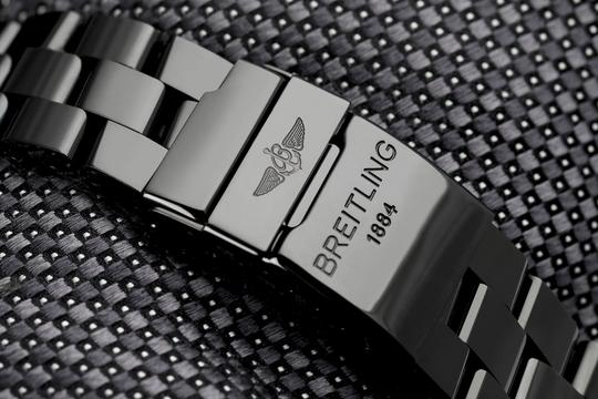 Breitling Breitling Super Avenger Chronograph Stainless Steel Black PVD Watch Image 7