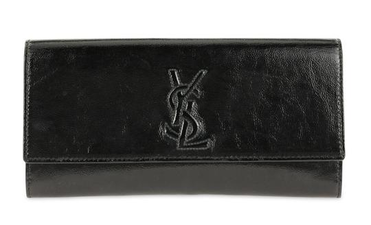 Saint Laurent Leather Black Clutch Image 0
