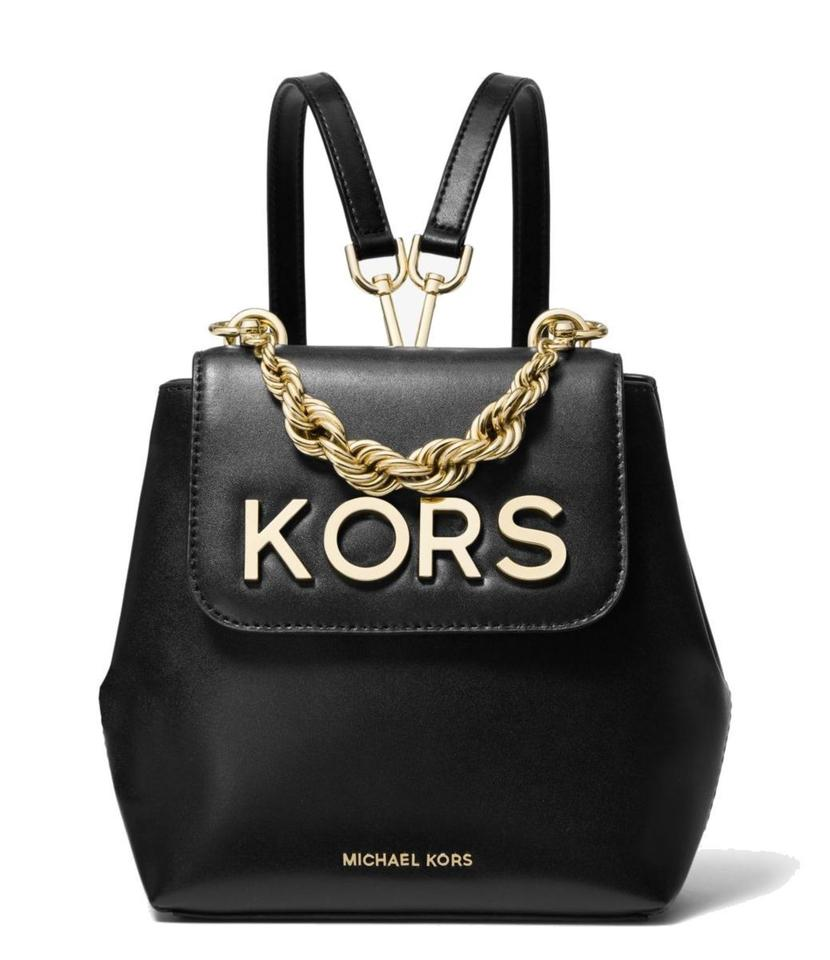 d34d7c4fadd3 MICHAEL Michael Kors Mott Smooth Leather Embellished Small Backpack Image 0  ...