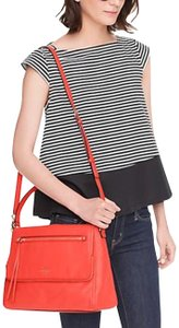 Kate Spade Cobble Cobble Hill Toddy Orange Shoulder Bag
