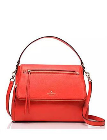 Kate Spade Cobble Cobble Hill Toddy Orange Shoulder Bag Image 2