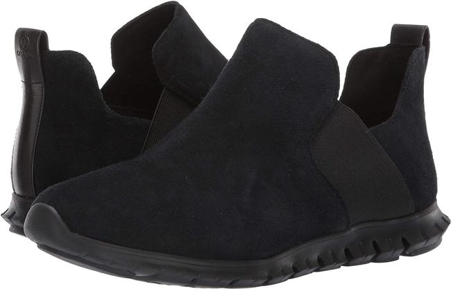 Item - Black Zerogrand Suede Slip-on Ankle Boots/Booties Size US 8 Regular (M, B)