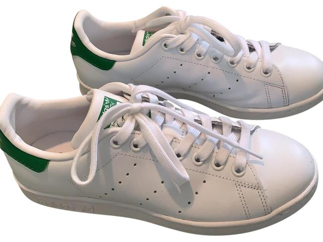 Item - White/ Green Back Stan Smith Sneakers Size US 6.5 Regular (M, B)
