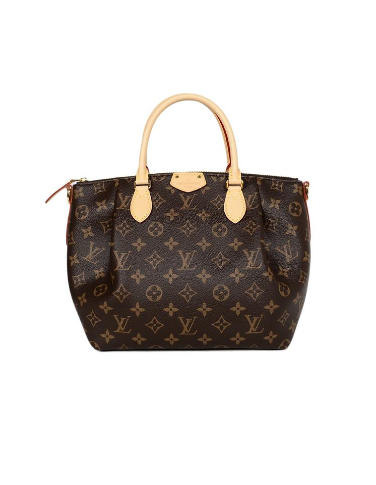 2aed5ff01dd4 Louis Vuitton Turenne 2019 Lv Monogram Pm with Strap Brown Coated ...