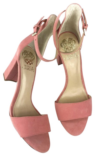 Vince Camuto Pink Vc- Corlina Strap Ankle Sandals Size US 7 Regular (M, B) Vince Camuto Pink Vc- Corlina Strap Ankle Sandals Size US 7 Regular (M, B) Image 1