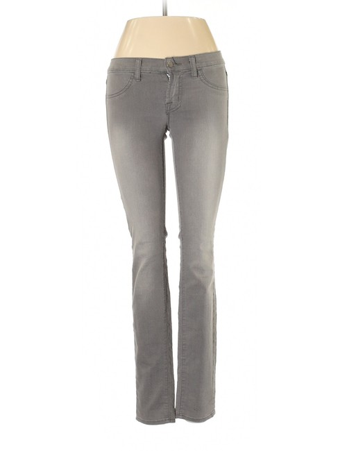 Item - Gray Vintage Fade Wash Low Rise Jegging Skinny Jeans Size 25 (2, XS)