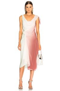 Sies Marjan Multicolor Dyed Ombre Gradient Draped Dress