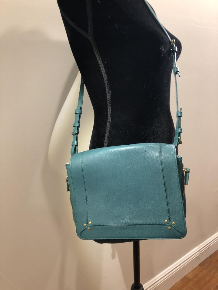 74b5d80ed Jérôme Dreyfuss Igor In Meridian Green Lambskin Leather Cross Body Bag -  Tradesy